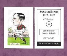 South Shields John Ridley 39 (FC)